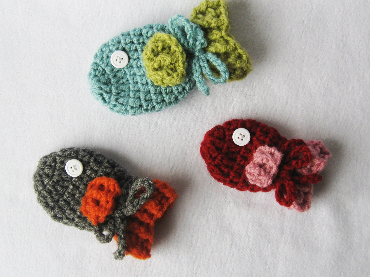 Baby crochet pattern baby fish mittens 3 sizes included from baby crochet pattern baby fish mittens 3 sizes included from newborn 24 months instant download bankloansurffo Images