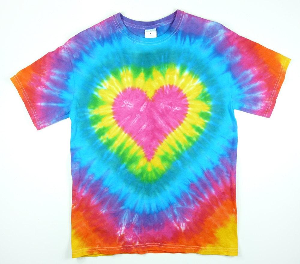Tie dye t shirt adult mens standard and plus sizes pink for Making a tie dye shirt