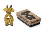 Double Headed Giraffe Resin Toy