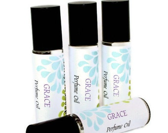 Grace  Perfume Oil,Philosophy Dupe, Soft and Feminine Roll on Perfume