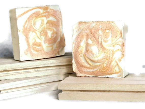 Shampoo Bar in Sweet Tangerine All Natural Chemical Free Cold Processed Shampoo,