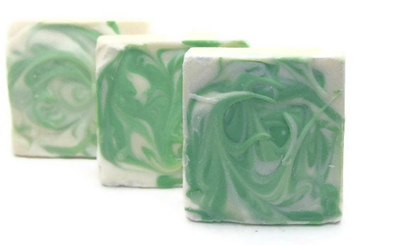 All Natural Shampoo Bar Green Apple Scent, Enriched with Jojoba and Wheat Germ Oils, Organic Hair Care