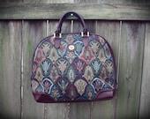 VTG Diane Von Furstenberg Tapestry Purse