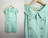 Vintage Good Girl in Mint Dress. Size S/M