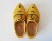 Vintage Dutch Wooden Shoes - SPECIAL SALE