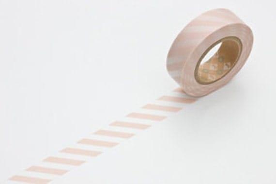 Masking Tape - Pink Stripes