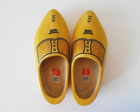 Vintage Dutch Wooden Shoes - SPECIAL SALE