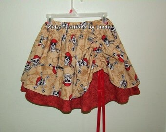 Peek A Boo Pirate Skirt