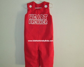 Red Valentine Heartbreaker  Longalls