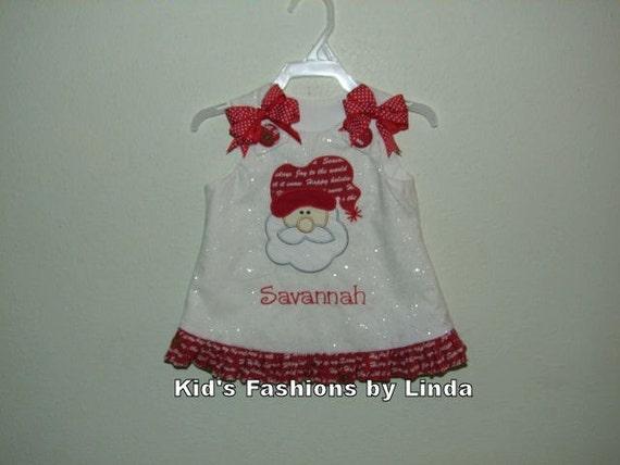Fairy Frost Santa Aline Dress