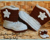 Baby Cowboy (or Girl) Boots