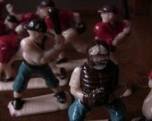 Vintage 1950's Baseball Player Toys