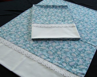 Pair of Decorative Standard Size Pillowcases