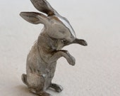 Pewter Story Book Rabbit