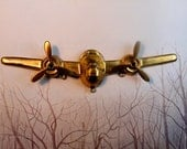 Vintage Jet Airplane with Propellers (1 pc )