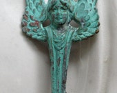 Deco Style Angel Brooch