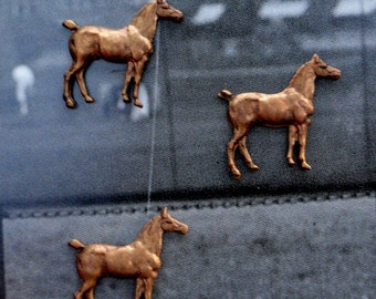 Smallest Vintage Super Mini Horses (3 pc )