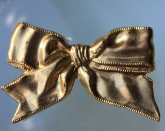 Beautiful Brass Gift Bow (1 pc)