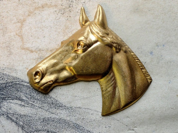 Elegant Vintage Horse Head (1pc)