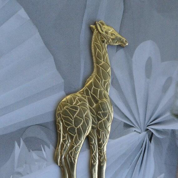 Lovely Long Legged Giraffe  (3 pc)