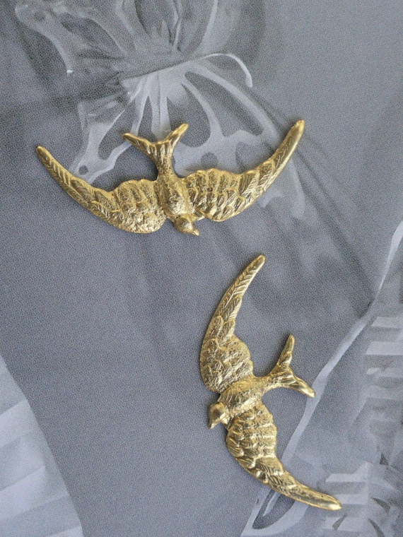 Miniature Vintage Swallows (3 pc)