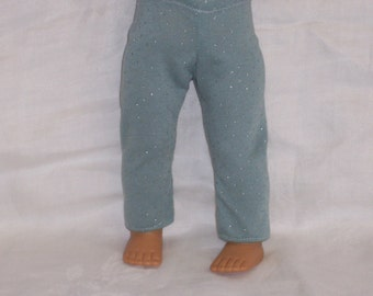 18  inch Doll Clothes American Girl, GLITTER TIGHTS SPANDEX