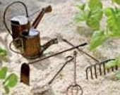 Tiny Garden Tools (set of 4) for creating a miniature garden