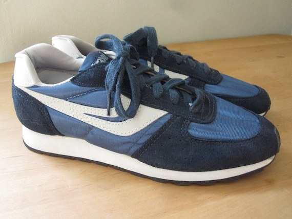 Trax Sneakers 80's Navy Blue Mens Size 7