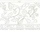 Paper Pattern - Expect Good Things