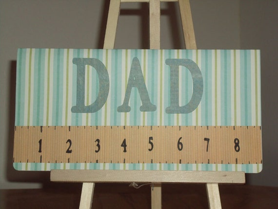 Father's Day Card - Happy Fathers Day - Card for Guys - Dad You Rule - Funny Fathers Day Card