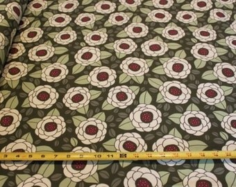 00014- Joel Dewberry Bloomin  Thyme - Ginseng Collection Home Dec fabric - 1 yard