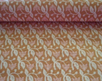 00337 - Joel Dewberry Aviary Collection Rose in Pink and Brown -1 yard