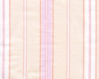 01579 Free Spirit Annette Tatum Fall House 2009 Collection  Euro Stripe in Soft Rose color- 1 yard