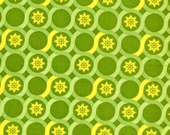 00400 Joel Dewberry Deer Valley Meadow Lace in Tarragon color-1 yard