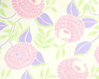 01544  Dena Designs McKenzie Collection Blooms in Lilac- 1 yard