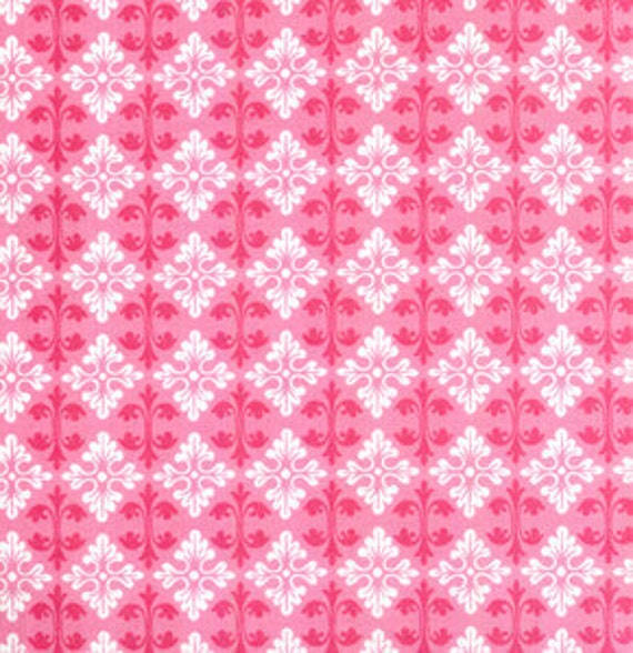 01475  Tanya Whelan Darla Collection Darly Ditty in pink color- 1 yard