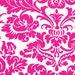 "01784  Jennifer Paganelli Queen Street Ellen in Fuchsia color-last 33"" on bolt"