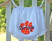 Silly Lilly Kids - Auburn - War Eagle bloomers
