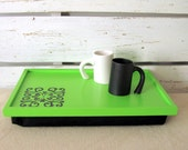 Personalized Laptop Lap Desk or Breakfast Serving Tray- Handmade drawing on Tray - Custom Order
