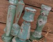 Sea Side Cottage Vintage Candlestick Collection