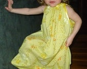 Vintage Pillowcase Dress - Size 2T- 3T - Super Cute and Ready to Ship