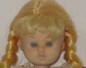 1973 Shillman Vintage Doll Blue Eyes Blond Hair Original Outfit Beautiful Dolls of Many Lands