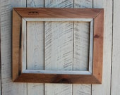 Vintage reclaimed wood 11x14 picture frame