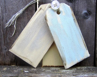 100 Rustic Antique Vintage Shabby Chic Style Wood Gift Favor  Place Cards Tags Country Cottage Farmhouse Garden Barn Wedding Decorations