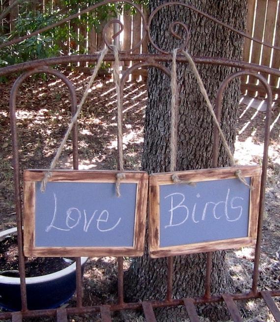 "Two 5""x7"" Chalkboard Photo Prop Shabby Chic Elegant Vintage Rustic Menu Message Boards Showers Weddings Parties Bride and Groom"