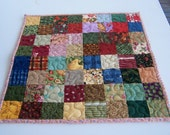 Doll Patchwork Quilt Country Cousins