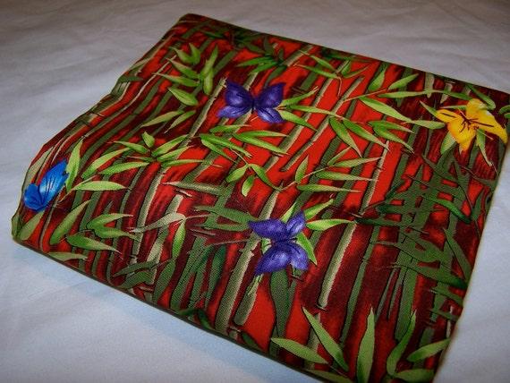 Bamboo Butterflies  Cotton Fabric MMFab 2.5 yards