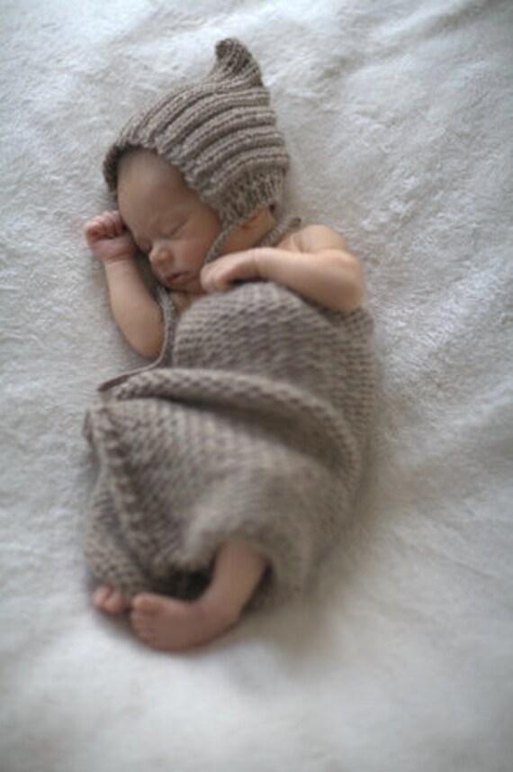 NEW Mini Blanket - in Latte