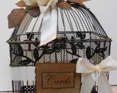 Romantic Wedding/Birdcage/Card holder