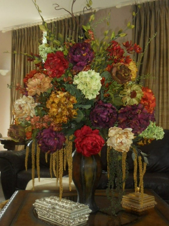 Stunning Hotel Style Designer Silk Floral Arrangement
